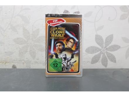 Igra za PSP - Star Wars The Clone Wars