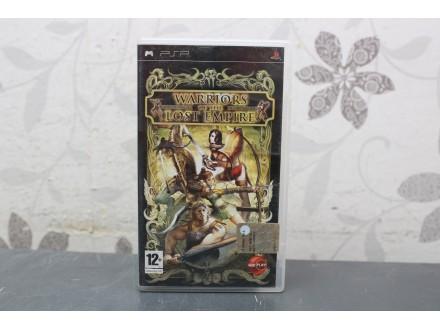 Igra za PSP - Warriors of the lost empire