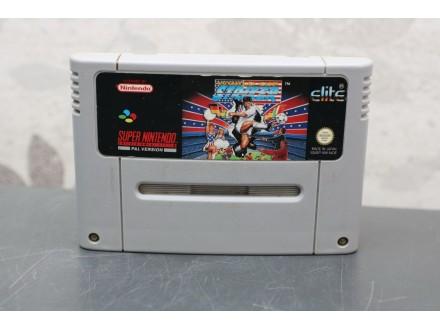 Igra za Super Nintendo (SNES) - World Cup Striker