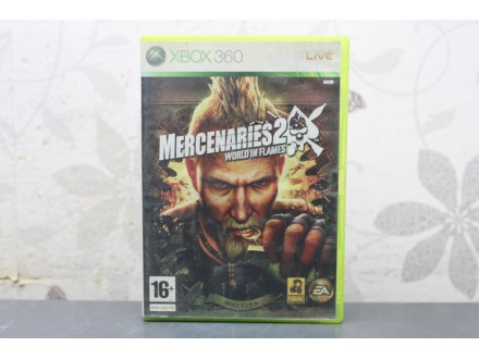 Igra za Xbox 360 - Mercenaries 2 World in Flames