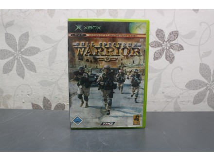 Igra za Xbox Classic - Full Spectrum Warrior