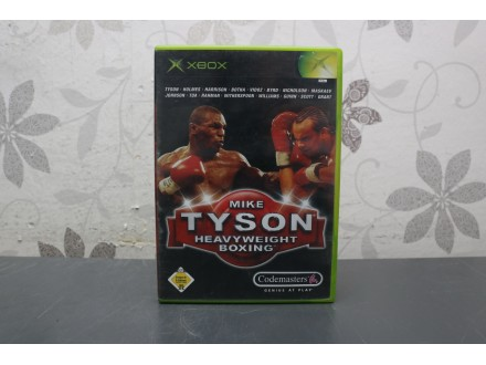 Igra za Xbox Classic - Mike Tyson Heavyweight Boxing