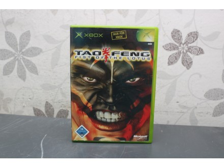 Igra za Xbox Classic - Tao Feng Fist of Lotus