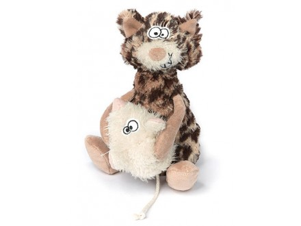 Igračka - Slatke zverčice, Uvek u tvom zagrljaju, Mačka i miš