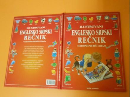 Ilustrovani ENGLESKO SRPSKI REČNIK veliki format 31 cm