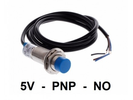 Induktivni senzor - LM12 - 4mm - PNP - 5VDC - NO