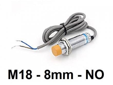 Induktivni senzor - LM18 - 8mm - 6-36VDC - NO dve zice