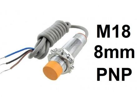 Induktivni senzor - LM18 - 8mm - PNP - 6-36VDC - NC