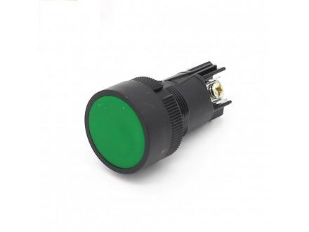 Industrijski taster 22mm zeleni
