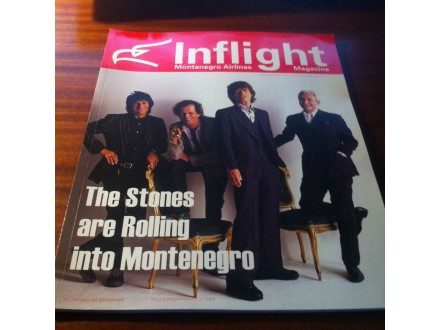 Inflight Montenegro Airlines magazine