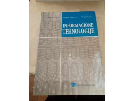 Informacione tehnologije - Todorović Ćosić