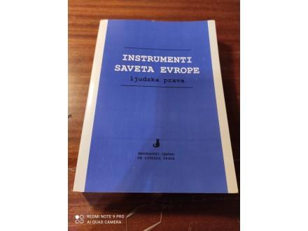 Instrumenti saveta evrope ljudska prava