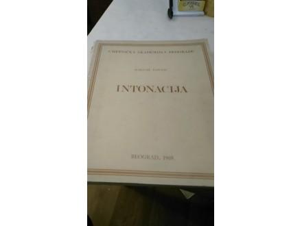 Intonacija - Borivoje Popović