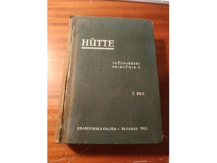Inženjerski priručnik II  2 deo Hutte