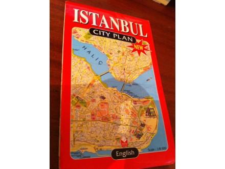 Isanbul plan grada na engleskom