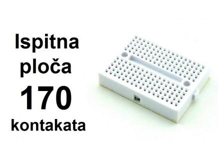 Ispitna ploca - Mini protoboard - 170 kontakata