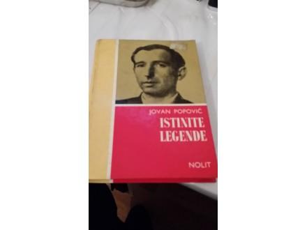 Istinite legende - Jovan Popović