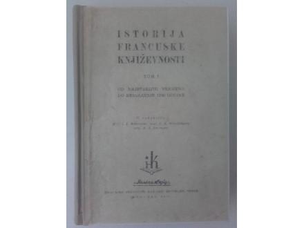 Istorija francuske književnosti (tom 1) - Anisimov