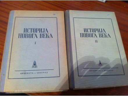 Istorija novoga veka I - II