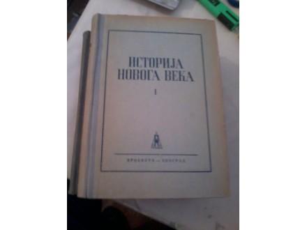 Istorija novoga veka I i II