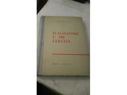 Italijanski u 100 lekcija - dr Stanko Škerlj