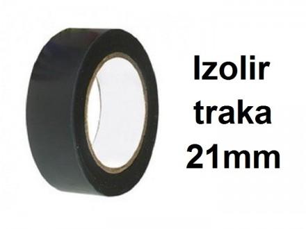 Izolir traka - Crna - 21mm sirina