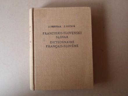 J. Pretnar - Francosko - slovenski slovar