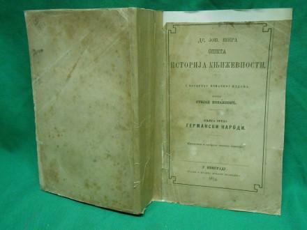J.Šera:Opšta istorija književnosti III:Germanski narodi