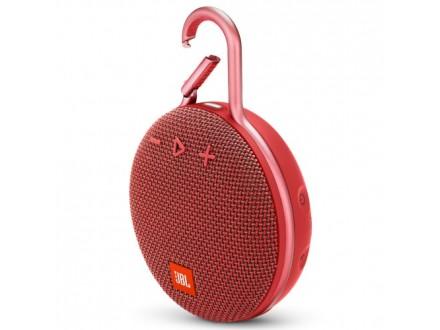 JBL bežični zvučnik CLIP 3 crveni