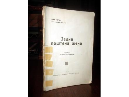 JEDNA POŠTENA ŽENA - Anri Bordo (1934)