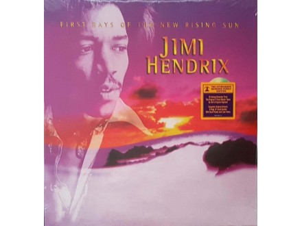 JIMI HENDRIX - FIRST RAYS OF THE NEW RISING SUN - LP