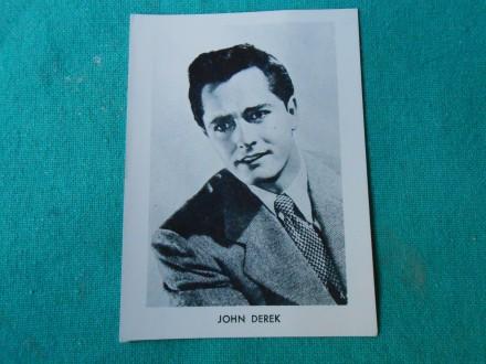 JOHN DEREK-FOTO-SLIČICA- 6 X 9.cm