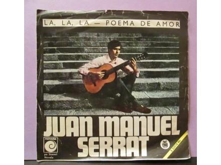 JUAN MANUEL SERRAT - La,La,La Poema De Amor
