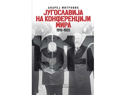 JUGOSLAVIJA NA KONFERENCIJI MIRA 1919-1920 - Andrej Mitrović