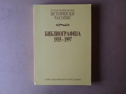 JUGOSLOVENSKI ISTORIJSKI ČASOPIS BIBLIOGRAFIJA