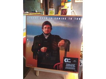 Johnny Cash Is Coming To Town (Remastered Vinyl)