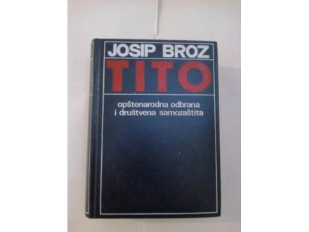 Josip Broz Tito opštenarodna odbrana i društvena