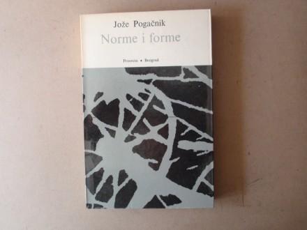 Jože Pogačnik - NORME I FORME