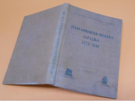 Jugoslovensko-Poljska Saradnja 1772-1840.