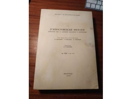 Južnoslovenski filolog XXX  1973