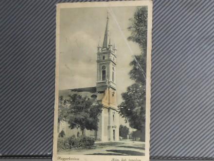 KANJIŽA- RIMOKAT. CRKVA 1940-1950  ( II-58 )