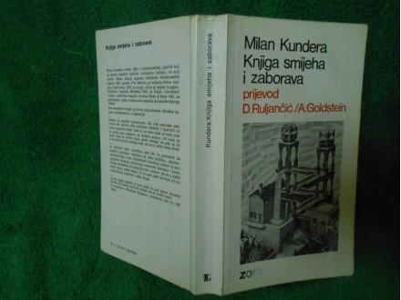 KNJIGA SMEHA I ZABORAVA  Milan Kundera