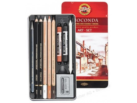 KOH-i-NOOR Gioconda Art set 8890