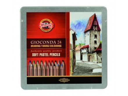 KOH-i-NOOR Gioconda soft pastel pencils 24 8828