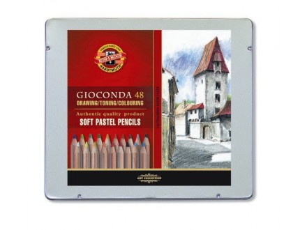 KOH-i-NOOR Gioconda soft pastel pencils 48 8829