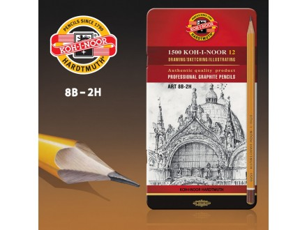 KOH-i-NOOR Professional Pencils Art 1502/II