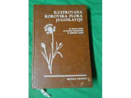 KOROVSKA FLORA JUGOSLAVIJE/atlas korova ilustrovana
