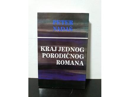 KRAJ JEDNOG PORODIČNOG ROMANA Peter Nadaš