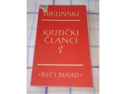 KRITIČKI ČLANCI - V.G.Bjelinski
