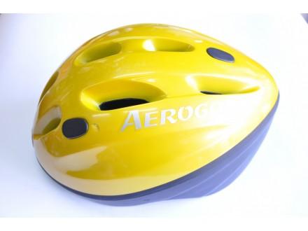 Kaciga Aerogo u zutoj boji Velicina: XL 59-62cm